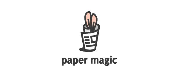 news logo paper magic