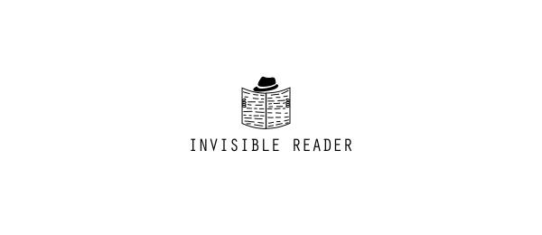 newspaper logo invisible reader