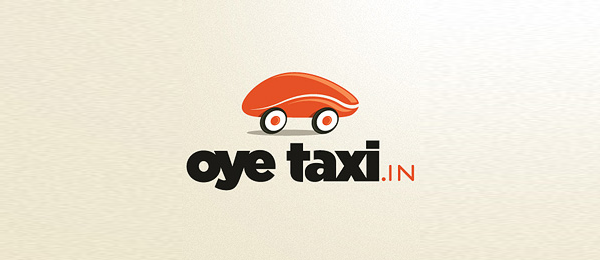 orange car logo oye taxi 37