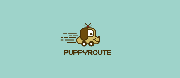 puppy car logo 19