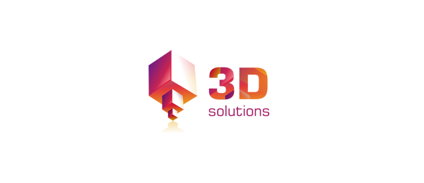 red 3d cube logo