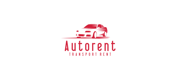 red car logo autorent 26
