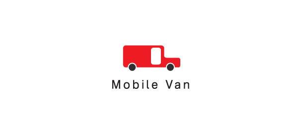 red mobile van logo 36