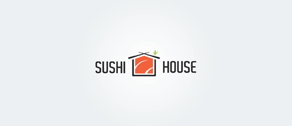 red sushi house logo
