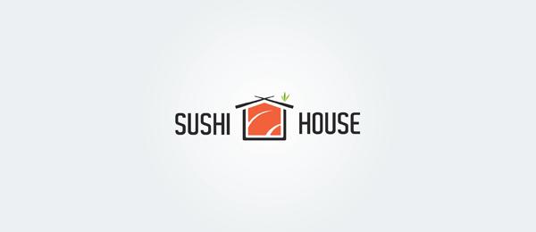 red sushi house logo
