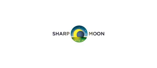 sharp moon logo
