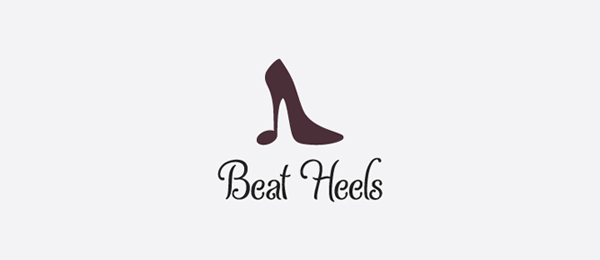 shoe logo beat heels