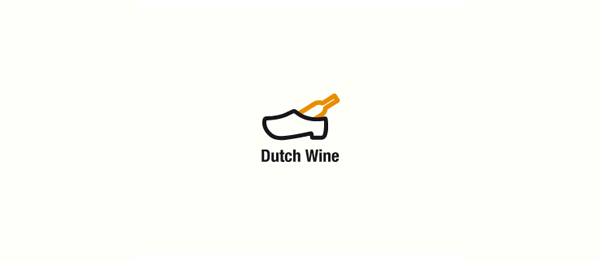 shoe logo dutch wine