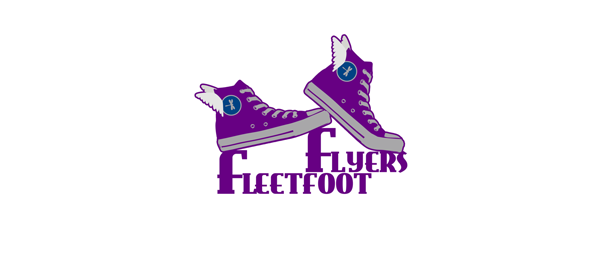 shoe logo fleetfoot flyers