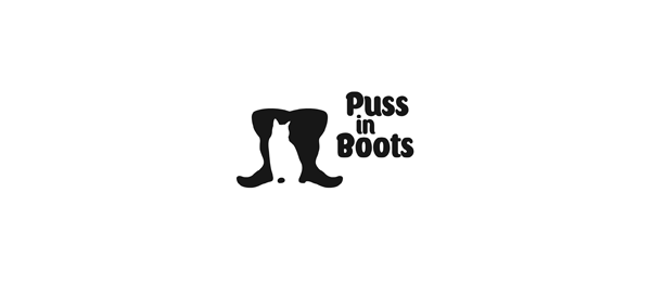 shoe logo puss in boots