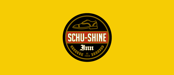 shoe logo schu shine inn