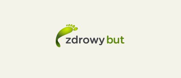 shoe logo zdrowy but