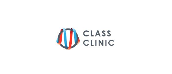 spiral logo om class clinic