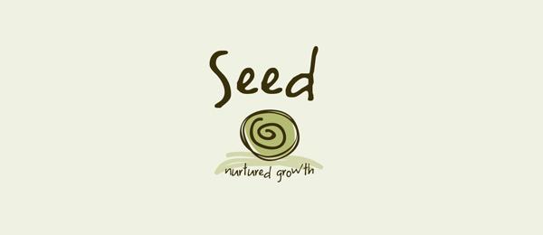 spiral logo seed