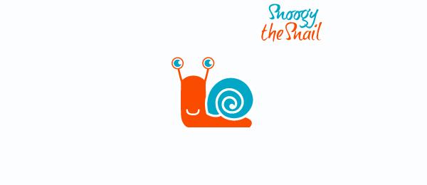 spiral logo snoogy the snail