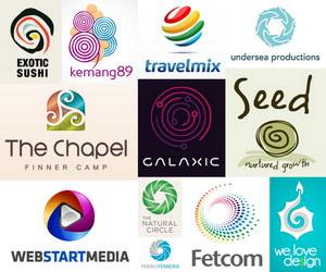 spiral logo thumbnail data pin