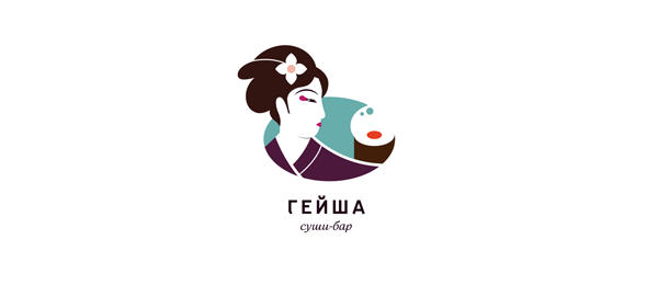 sushi bar logo designs