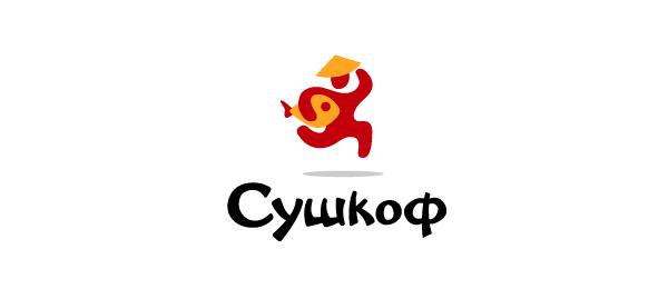 sushi delivery logo sushcof