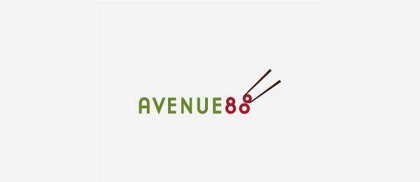 sushi logo avenue 88 http://hative.com/cool-sushi-logos/