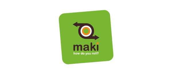 sushi logo maki http://hative.com/cool-sushi-logos/
