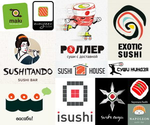 sushi logo thumbnail data pin
