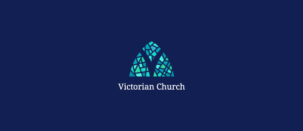 victorian church logo 8