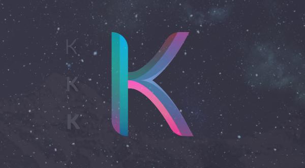 3d K Logo Relate...K Logo 3d
