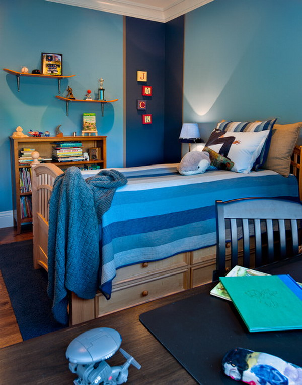 50+ Awesome Blue Bedroom Ideas for Kids - Hative