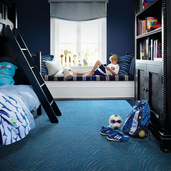 Rug For Little Boys Room: 50+ Awesome Blue Bedroom Ideas For Kids
