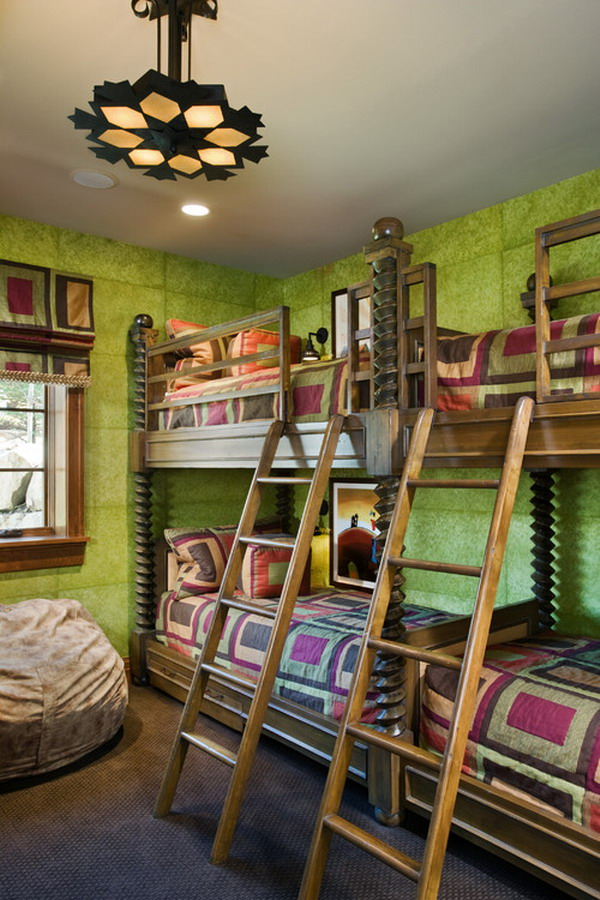 30 beautiful bunk room ideas for kids hative