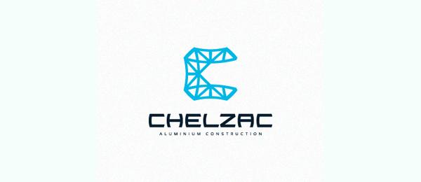 blue construction logo chelzac 19