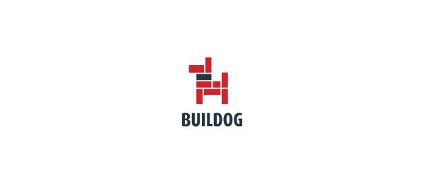 consturction logo brick dog 13