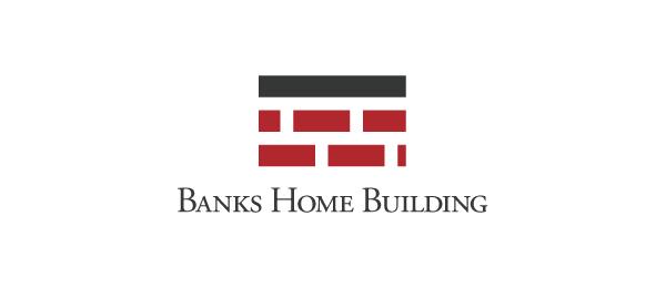 consturction logo brick home building 14