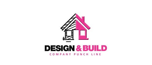50 creative construction logo ideas for inspiration hative for Building design company