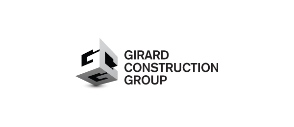 consturction logo g c 3d 35