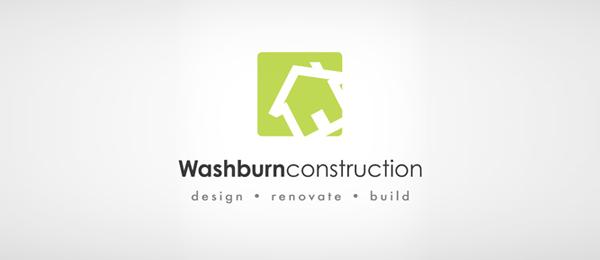 consturction logo green house 36