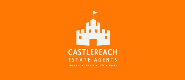 yellow consturction logo castle reach 22