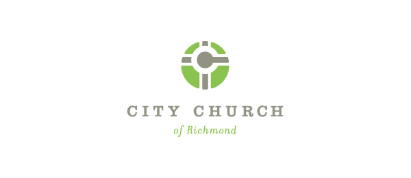 city church cross logo 45