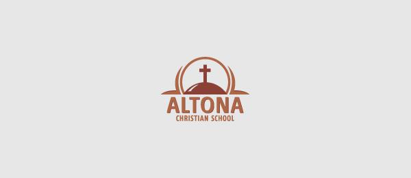 cross logo christian school 34