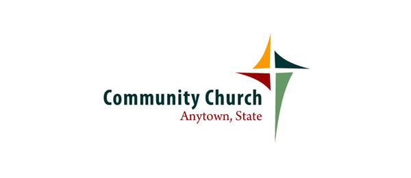 crossed colors church logo 40