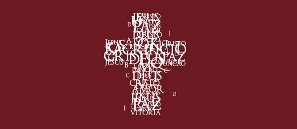 typographic cross logo 12