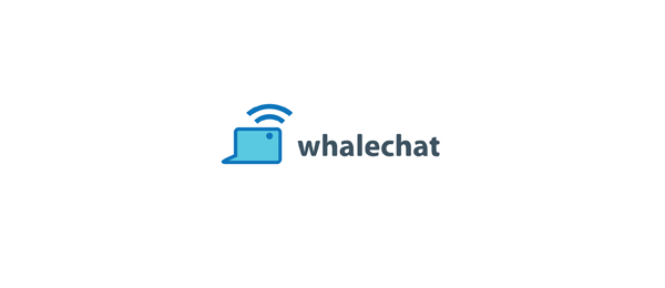 fish logo whale chat 54