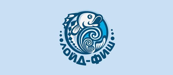 50+ Creative Fish Logo...