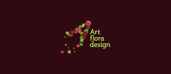 art flora design logo 5