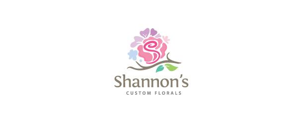custom florals logo 30