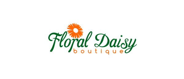 floral daisy boutique logo 41