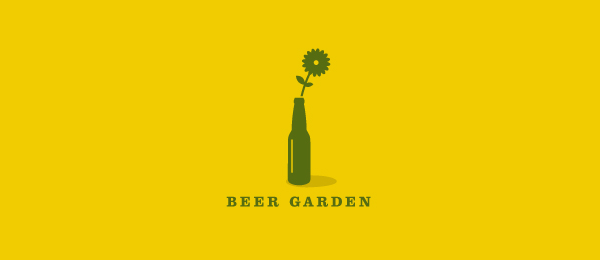 flower logo beer garden 20