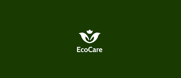 flower logo eco care 8