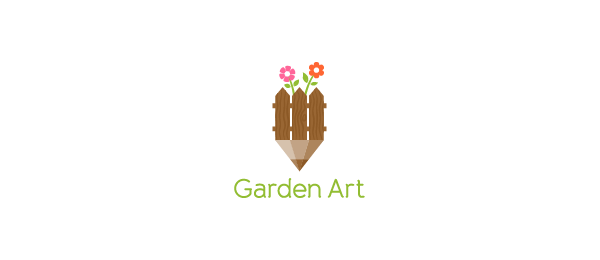 flower logo garden art 48