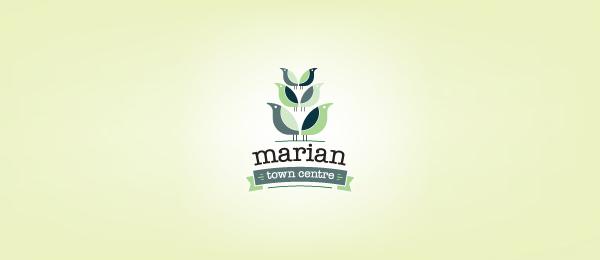 flower logo marian 14